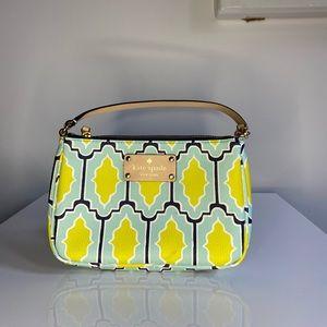 Kate Spade Cabana Style Linet Wristlet Bag Purse.